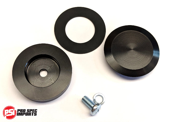 Nissan 300zx, 350z, S13, R32 and others. Billet Rear Wiper Delete Kit