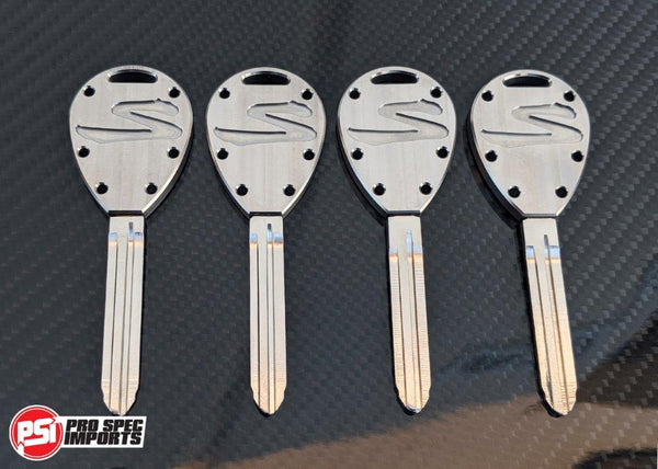 Machine Finish - Titanium Supra Key