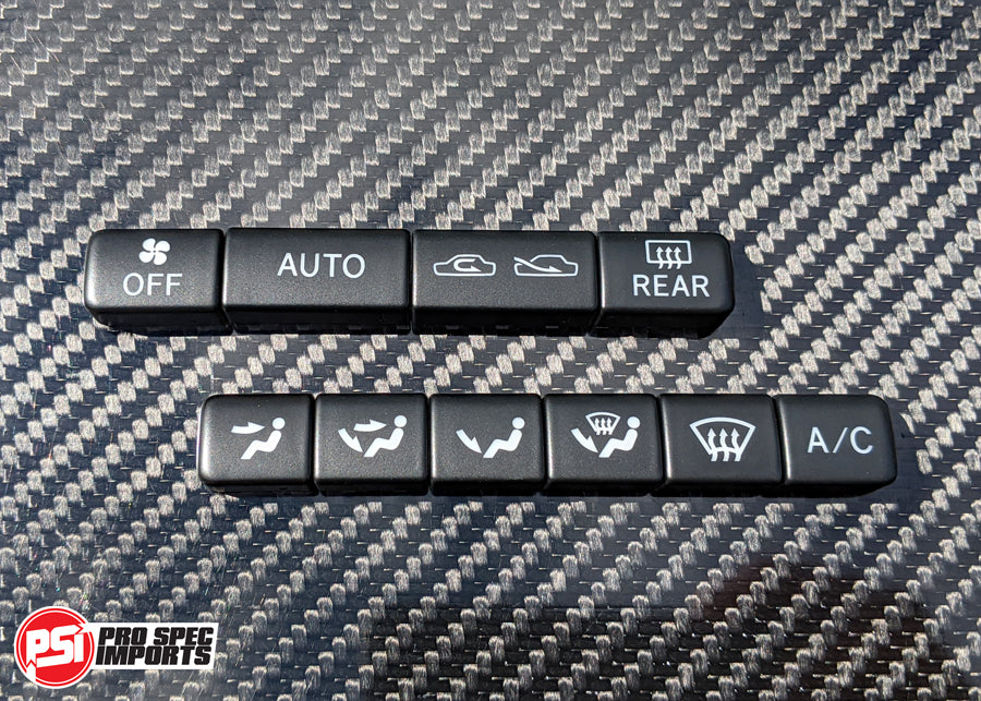 New AC Button Set For USDM Supra HVAC Climate Control Unit