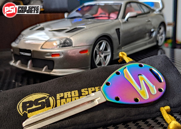 Limited Edition 'Brushed Burnt' - Titanium Supra Key