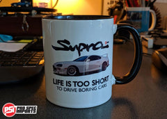 Toyota Supra stickers Mug merch pro Spec imports mouse pad