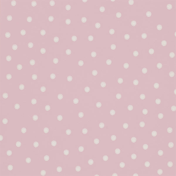 Emma Bridgewater wallpaper - Polka Dot - Rose pink