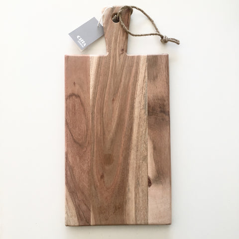 Citta Acacia Rectangular chopping board 44cm