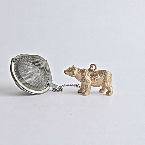 Ball Tea Infuser with Bear