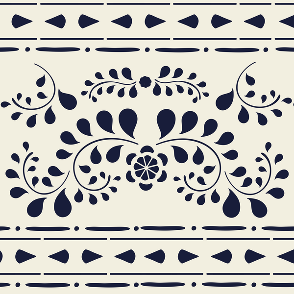 Annie Sloan - Faux Bone Inlay 3 Stencil Set