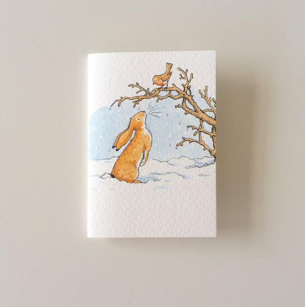 Bunny 'Hello Robyn' card mini