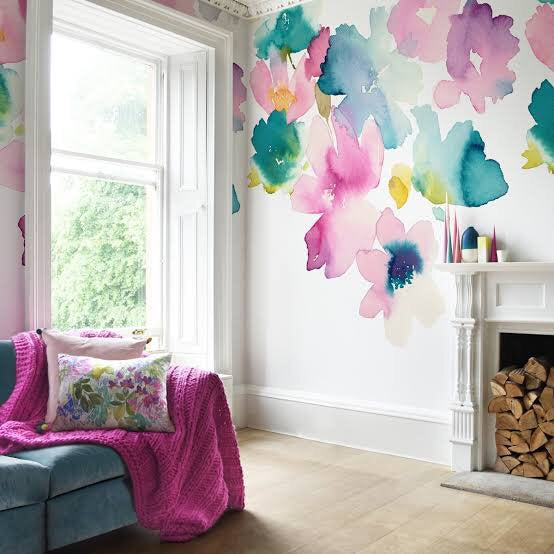 Bluebellgray Sanna Wallpaper Mural