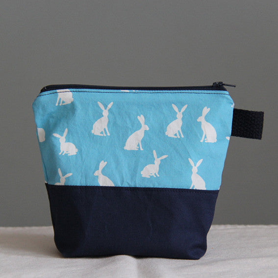 Ecofriendly zip Bag - Rabbit
