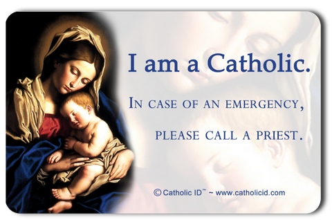 Catholic ID Card (English)
