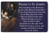 St. Joseph Prayer Card