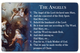 Angelus Prayer Card