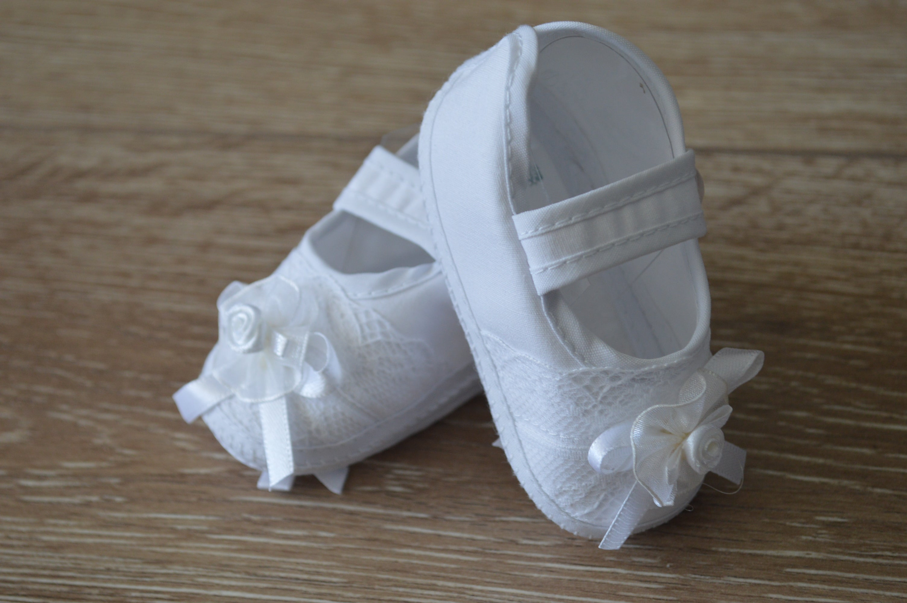 603076c661b38 Infant Girls Christening Booties