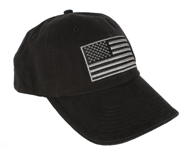 American Flag Cap Black