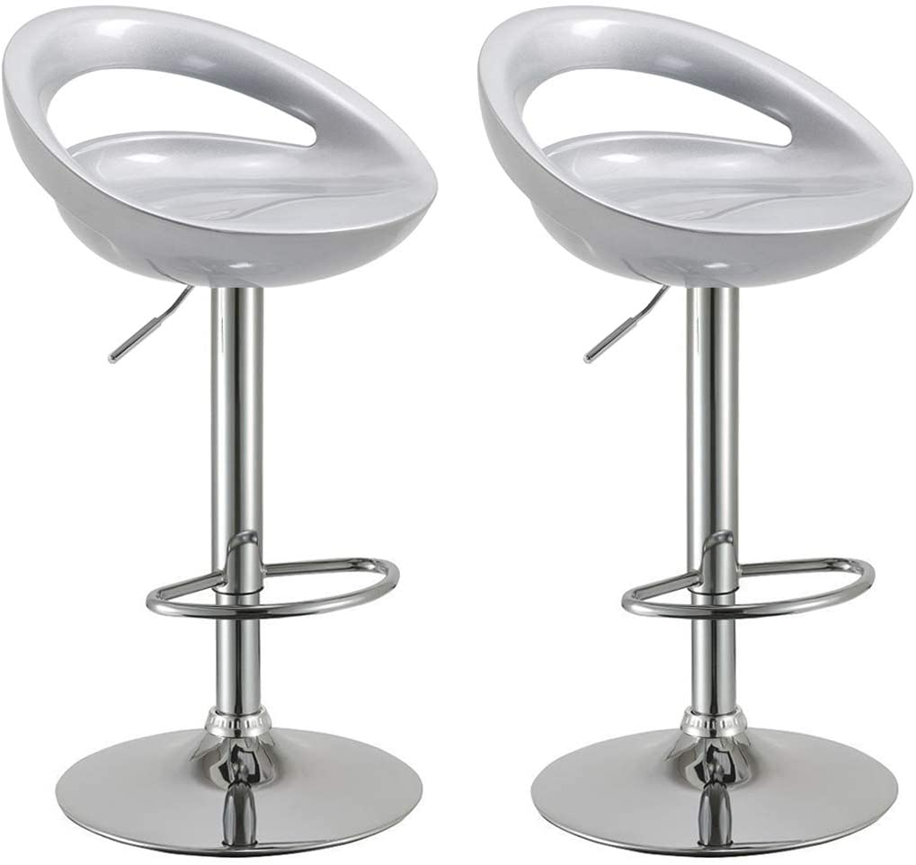 Barstool 806 Silver (Set of 2)