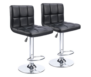Barstool 628 Black (Set of 2)