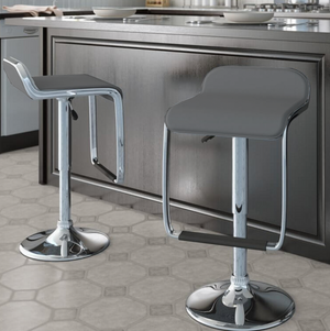 Barstool 683 Gray (Set of 2)