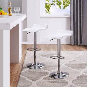 Barstool 688 White (Set of 2)