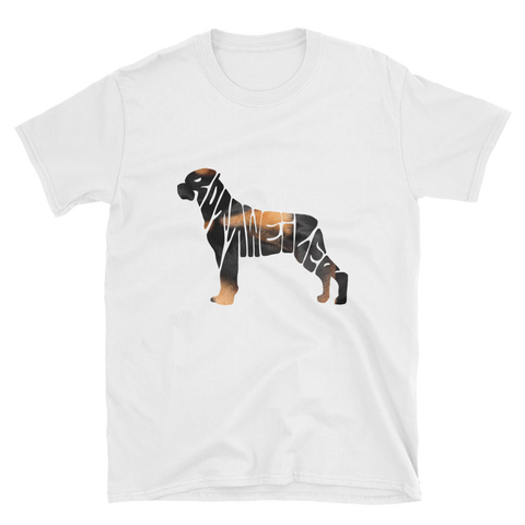Rottweiller t-shirt (for a human)