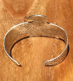 Native Thunderbird | Silver Wide Cuff Bracelet