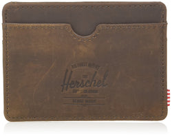 Herschel Supply Co. Unisex Charlie Card Wallet, Made From Genuine Leather & Protects From RFID Theft