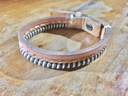 Tre Strati | Italian Brown Leather Bracelet