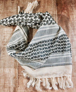 sand cotton keffiyeh shemagh military scarf
