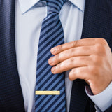 24k Gold | Personalized Initials | Professional Tie Bar