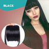 3D Clip-In Bangs Hair Extensions ★