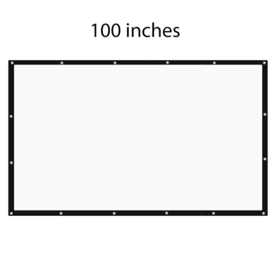 100 Inch Screen for Pocket Projector Pro