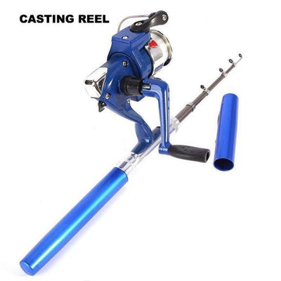 On-the-Go Pocket Fishing Pole