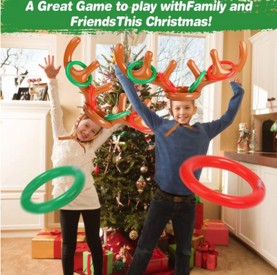 Christmas Reindeer Antler Ring Toss Game ★