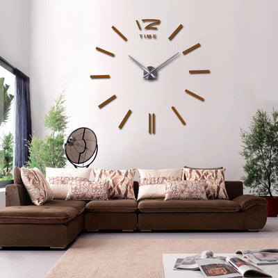 3D REAL BIG WALL CLOCK