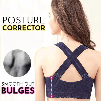 Criss Cross Shaping Posture Lift Bra