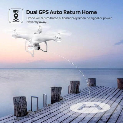 2020 LATEST 4K CAMERA ROTATION WATERPROOF PROFESSIONAL RC DRONE