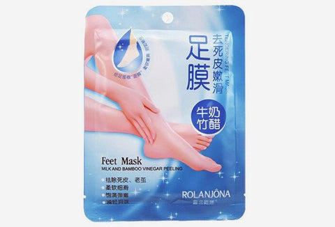 Milk Bamboo Feet Mask