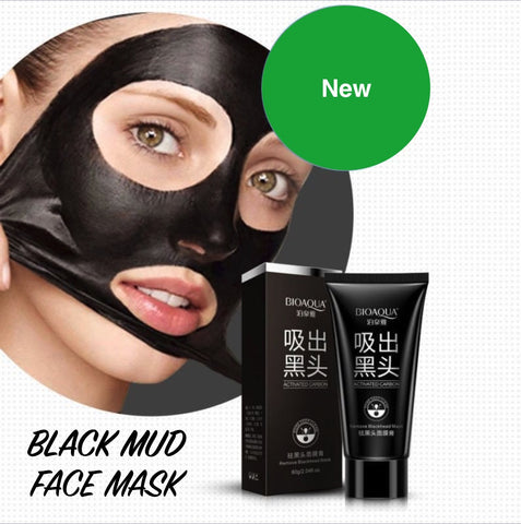 DEEP CLEANSING PURIFYING PEEL OFF BLACK MUD FACIAL FACE MASK