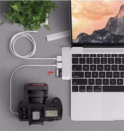 Lightspeed 5 in 1 USB-C Hub for MacBook