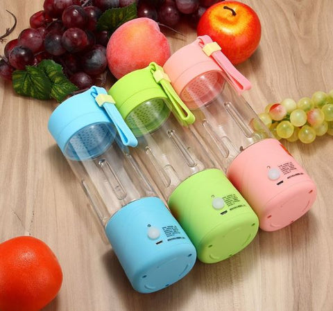 Handheld USB Electric Fruit Juicer Bottle