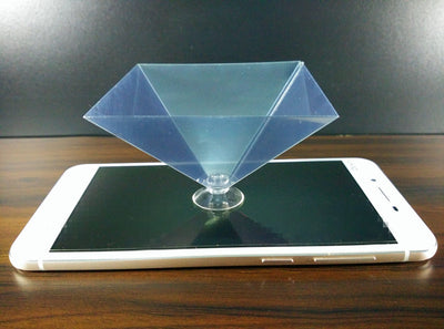 Hologram Pyramid Projector