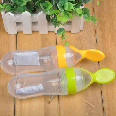 Feeding Spoon Milk Bottle Dispenser