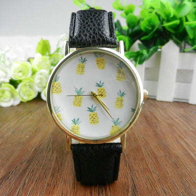 Vintage Pineapple Watch for Women