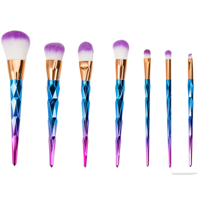 Rainbow Unicorn Brushes - 7P Pc Set