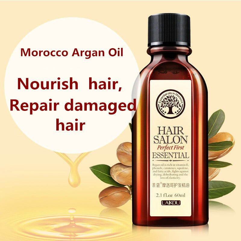 100% Hair Replenishing Moroccan Argan Oil