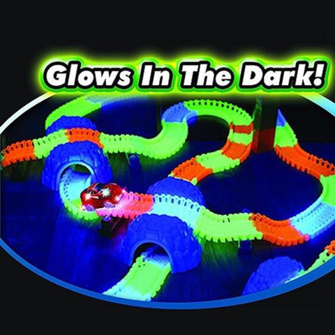Bend and Glow Race Track