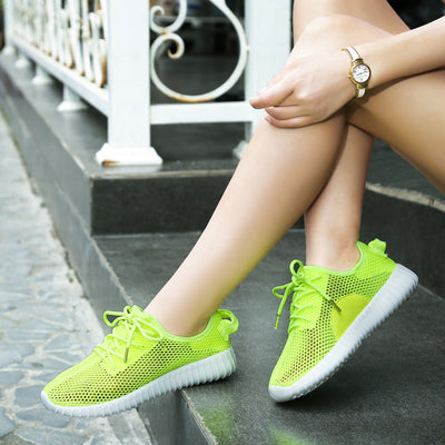 Women Comfortable Breathable Air mesh Running Shoes