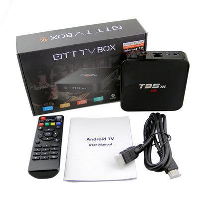 Make Your TV Smart, Watch TV and Movie - 4K Ultra HD Home Theater Box with T95m