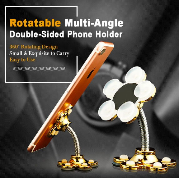 Rotatable Multi-Angle Double-Sided Phone Holder ★