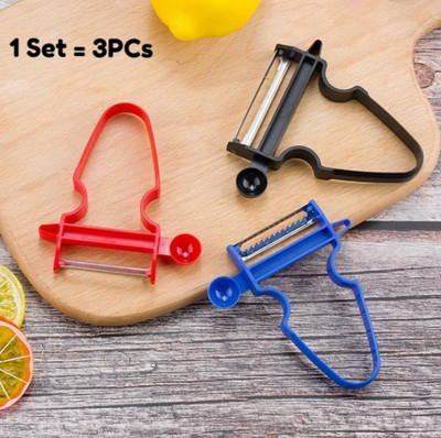 3PEELY™ (Set of 3 Different Peelers)