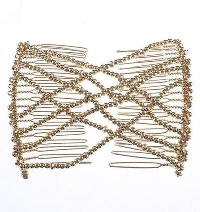 Elastic Vintage Hair Comb Accessory