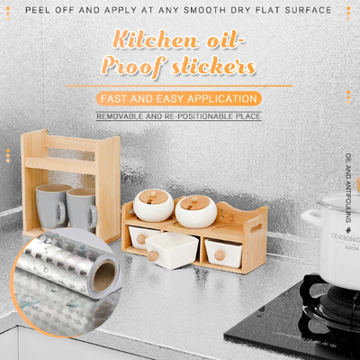 Kitchen Oil-Proof Sticker
